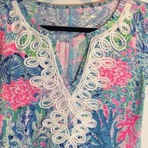Lilly Pulitzer Brewster dress in Multi Sink  M